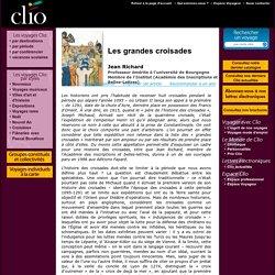 Jean Richard, Les grandes croisades