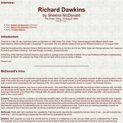 Richard Dawkins Interview