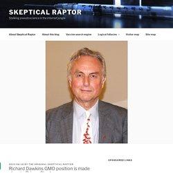 Richard Dawkins talks about GMO crops