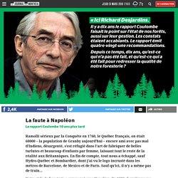 Richard Desjardins: L'état de nos forêts