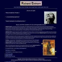 Richard Einhorn Composer