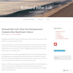 Richard John Luh