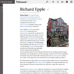 Richard Epple - Wikiwand