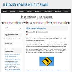 Richard Ferrand de bout en bout - LE BLOG DES CITOYENS D'ILLE-ET-VILAINE