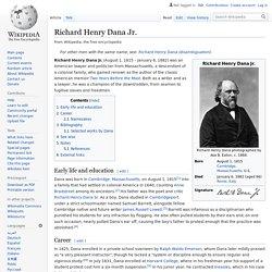 Richard Henry Dana Jr.