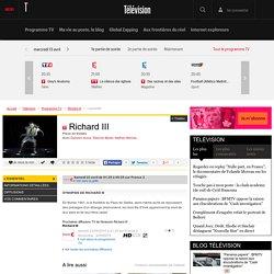 Télérama : Richard III - Théâtre