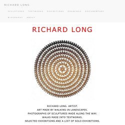 RICHARD LONG OFFICIAL WEB SITE