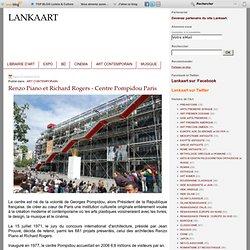 Renzo Piano et Richard Rogers - Centre Pompidou Paris