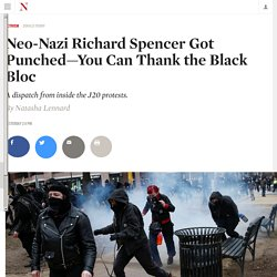Neo-Nazi Richard Spencer Got Punched—You Can Thank the Black Bloc