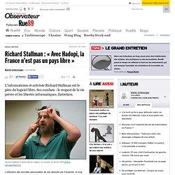 Richard Stallman: «Avec Hadopi, la France n'est pas un pays libre»