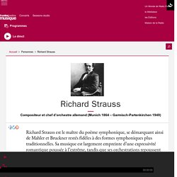 Richard Strauss - France Musique