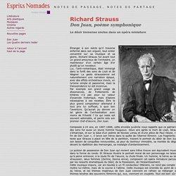 Richard Strauss - espritsnomades.com