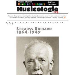 Richard Strauss (1864-1949) - musicologie.org