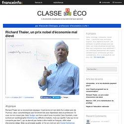 Richard Thaler, un prix nobel d'économie mal élevé