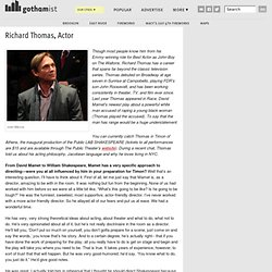 Richard Thomas, Actor: Gothamist: New York City News, Food, Arts & Events