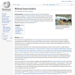 Richard James (tailor)