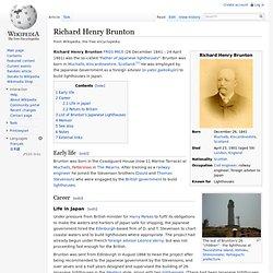 Richard Henry Brunton