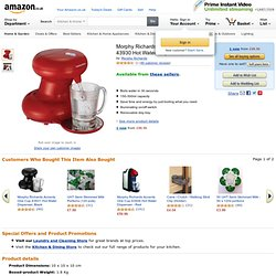 Morphy Richards Accents One Cup 43930 Hot Water Dispenser, Red: Amazon.co.uk: Kitchen & Home