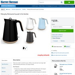 Morphy Richards Scandi 1.5L Kettle - Kettles - Small Kitchen Appliances - Kitchen Appliances