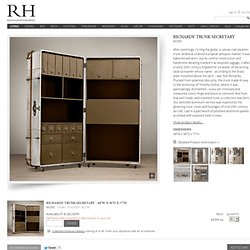 Richards' Metal Secretary Trunk |