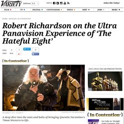 Robert Richardson on Bringing 'The Hateful Eight' to Life