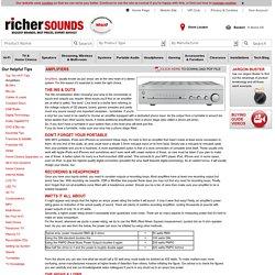 Richer Sounds - The UK's Hi-Fi, Home Cinema & TV Specialists!