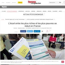 L'écart entre les plus riches et les plus pauvres se réduit en France
