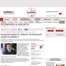 """Comment évaluer la """"richesse"""" de l'économie sociale et solidaire"""