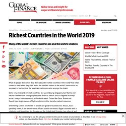 The Richest Countries in the World