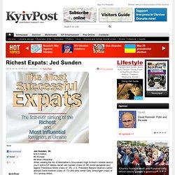Richest Expats: Jed Sunden