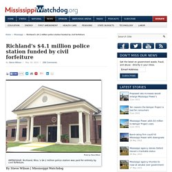 Richland's $4.1 million police station funded by civil forfeiture