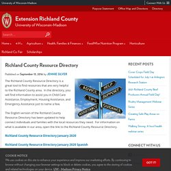 Richland County |  Richland County Resource Directory