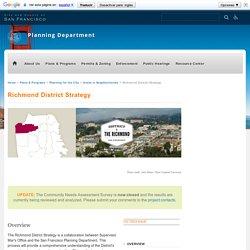 Richmond District Strategy