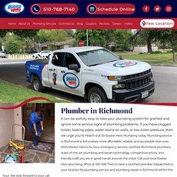 24/7 Emergency Plumbers in Richmond, CA