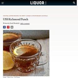 USS Richmond Punch Cocktail Recipe