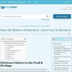 Desert Tour in Marrakech - Excite Submit