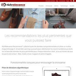 RichRelevance - Recommend : RichRelevance