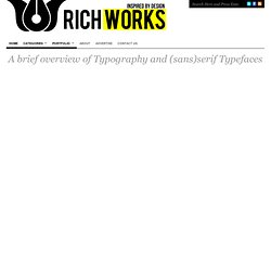 Richworks | All round inspiration, resources and Design tutorial