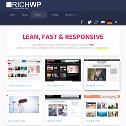 RichWP WordPress Themes