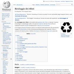 Origini del riciclaggio