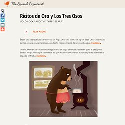 Ricitos de Oro y Los Tres Osos - Children's stories in Spanish and English