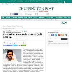 I ricordi di Fernando Alonso (e di tutti noi)