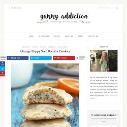 Orange Poppy Seed Ricotta Cookies - Yummy Addiction