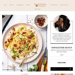 Walnut Lemon Ricotta Pasta Recipe - Vegetarian 'Ventures