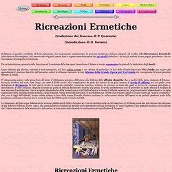 Ricreazioni Ermetiche
