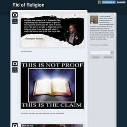 Rid of Religion
