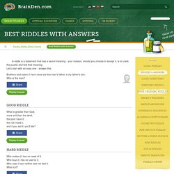 Best Riddles and Answers