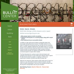 Bike to Work Incentives - Bullitt Center