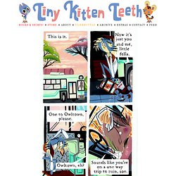 Ride That Bus | Tiny Kitten Teeth