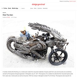 Ride The Alien » Design You Trust – Social Inspirations!
